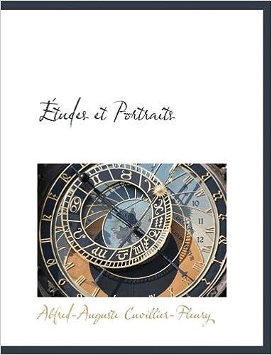 Book Études et Portraits