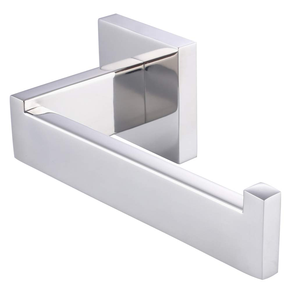 Modern Bathroom Accessory Square Single Towel Robe Hook Hangers in Chrome