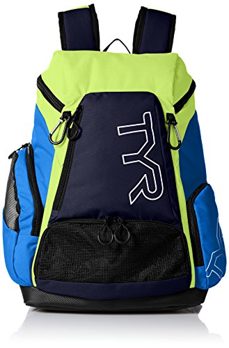 TYR Alliance Backpack, Blue/Green, 30 L