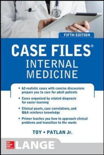 Pdf Medical Books Case Files Internal Medicine, Fifth Edition (LANGE Case Files)