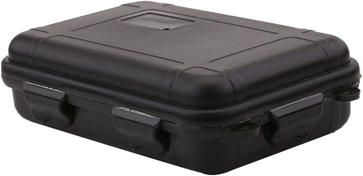 VGEBY Caja de Almacenamiento de Plástico al Aire Libre Caja ...