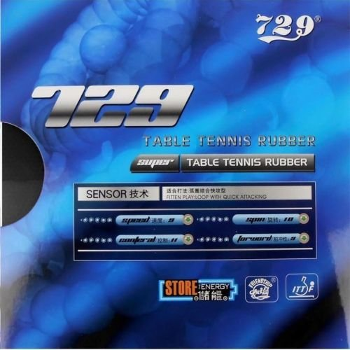 729 Friendship Super FX Table Tennis Rubber (Black) - 3