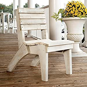 Uwharrie Chair Company Companion Collection Dining Chair - Poly - B.T. Blue