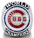 Chicago Cubs 2016 World Series Ring - Ben Zobrist Replica - Great Gift or Collectible