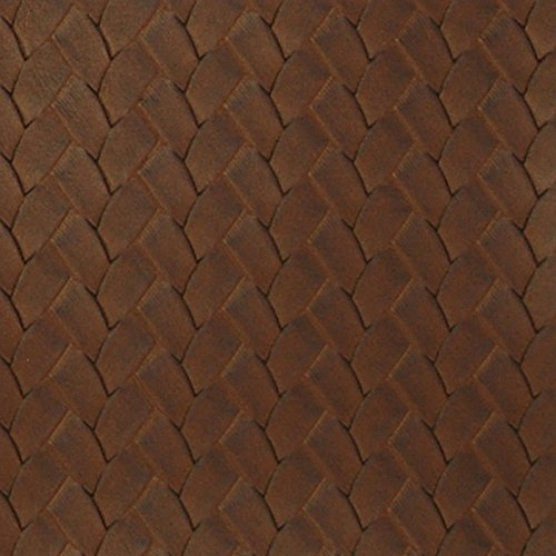 San Remo Pine Cone Brown Vinyl Upholstery Fabric by the yard (San Remo Sofa)