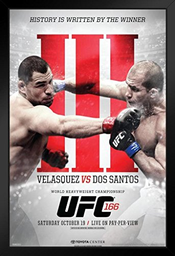 Pyramid America Official UFC 166 Cain Velasquez vs for sale  Delivered anywhere in USA
