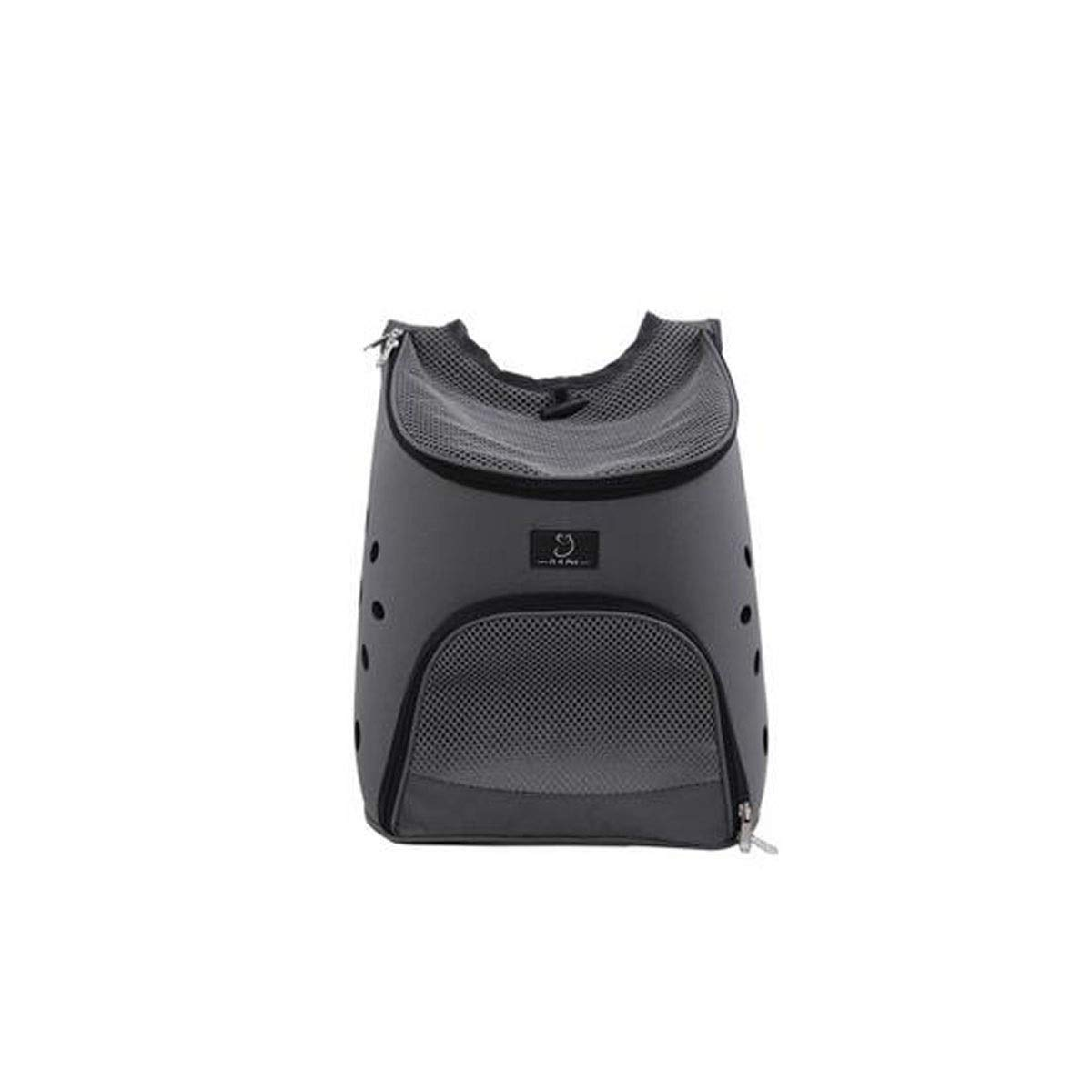 Black Guyuexuan Lightweight Pet Backpack, High Breathable Carrying Case, Suitable For Dogs, Cats, Pets, Camping, Suitable For Small And Medium Pets.Black, bluee, Pink Pet Travel Essentials