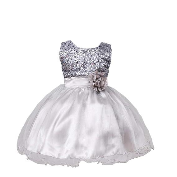 Vestido De Princesa Para Niñas Con Diseño De Bautismo Tutú