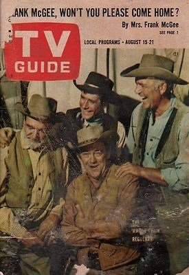 1964-tv-guide-august-15-wagon-train-amanda-blake-of-gunsmoke-peggy-cass-lau
