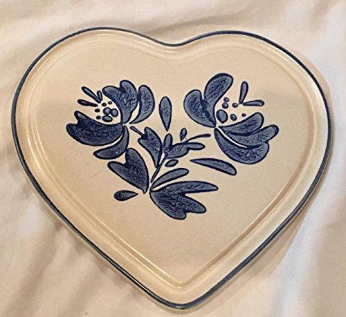 Pfaltzgraff Yorktowne Heart Shaped Trivet (7.5
