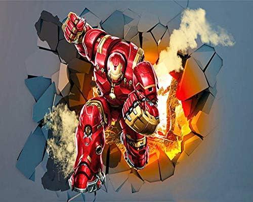 Iron Man Cross Stitch Kit