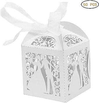 EisEyen 50 Unidades Dulces Caramelos Caja Chocolate Cajas Pequeñas ...