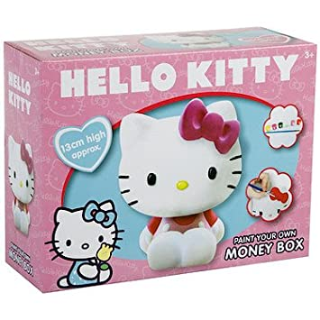 175618b5b Hello Kitty Paint Your Own Money Box: Amazon.co.uk: Toys & Games