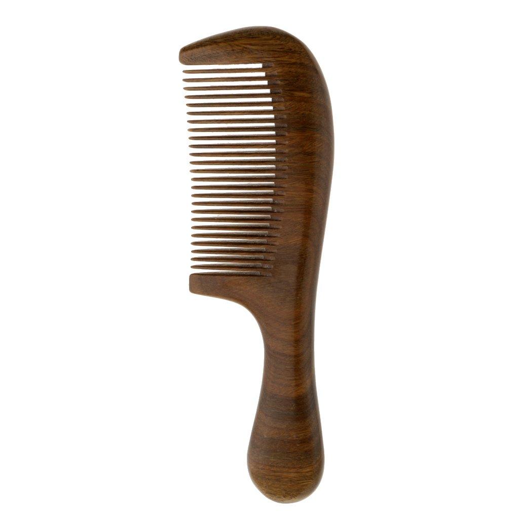 Homyl Cepillo de Peine de Masaje de Madera de Pelo de Bigote Dientes Finos Resistencia Térmica: Amazon.es: Juguetes y juegos