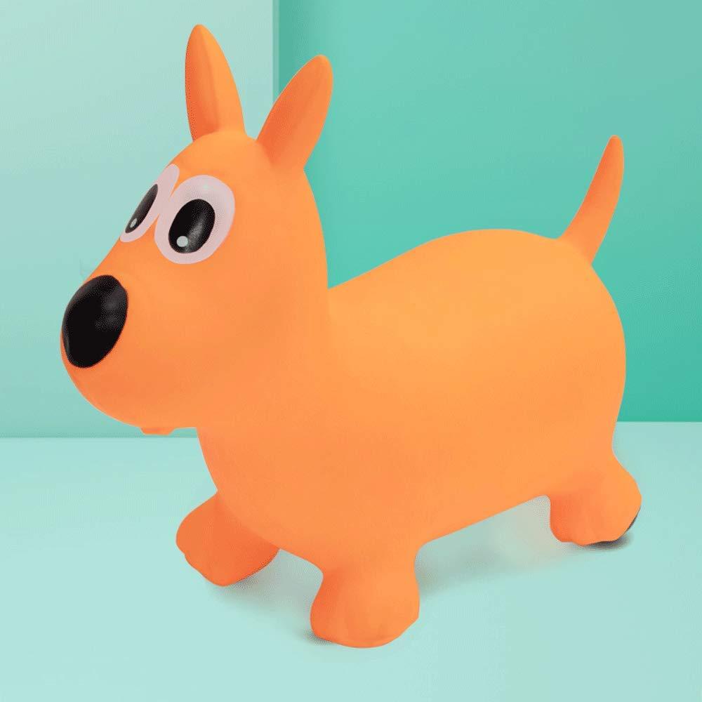 Little Toys Juguetes para niños Caballos de Salto Caballo Grande Espesar Inflable de Goma Lindo para bebés de Interior Montar Ambiental Juguetes educativos de Aprendizaje temprano (Tamaño : B2)