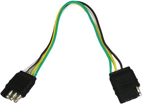 Amazon.com: Abn Trailer Wire Extension, 1ft, 4-Way 4-Pin ... on 4 pin connectors, 4 pin computer, 4 pin motors, 4 pin plugs, 4 pin voltage, 4 pin fan, 4 pin fuse, 4 pin relays, 4 pin switch, 4 pin arduino, 4 pin cable, 4 pin alternator, 4 pin audio, 4 pin power, 4 pin lamps, 4 pin harness, 4 pin bracket, 4 pin ignition,