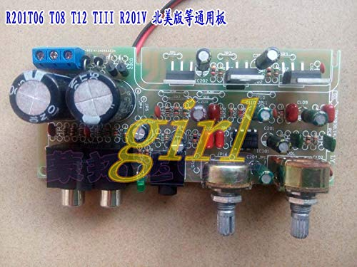 Lysee R201T06 T08 T12 TIII North American version of power amplifier board TDA2030 accessories finished board