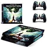 Dragon age inquisition ps4 skin decal for console and 2 controllers