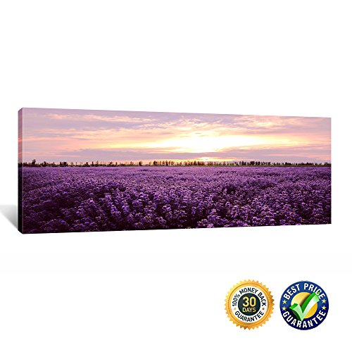 Kreative Arts- Gallery Wrap Canvas Print Romantic Lavender P
