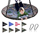 "Best frame swing set - Royal Oak Giant 40"" Flying Saucer Tree Swing Review"