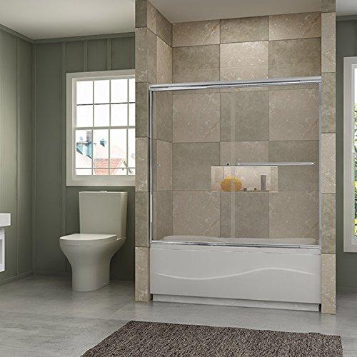 glass bath tub shower door - 4