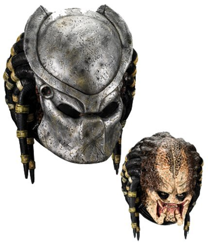 [Morris Costumes Predator Mask Deluxe Top Grade Components Available Popular by MCS] (Predator Deluxe Mask)