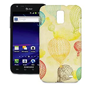 Phone Case For Samsung Galaxy S2 Skyrocket - Vintage Hot Air Balloons Snap-On Premium