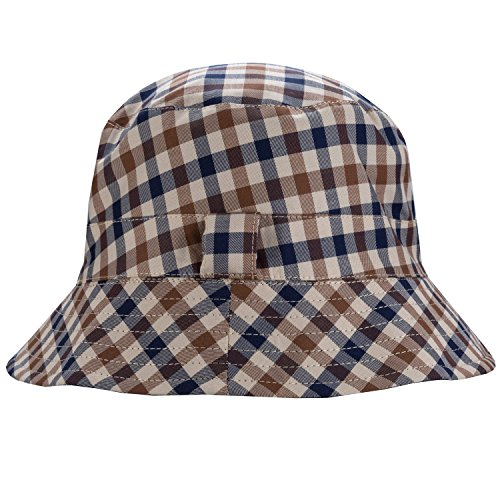 0ab37d2992f Aquascutum Mens Reversible Bucket Hat in Navy - One Size  Aquascutum   Amazon.co.uk  Clothing