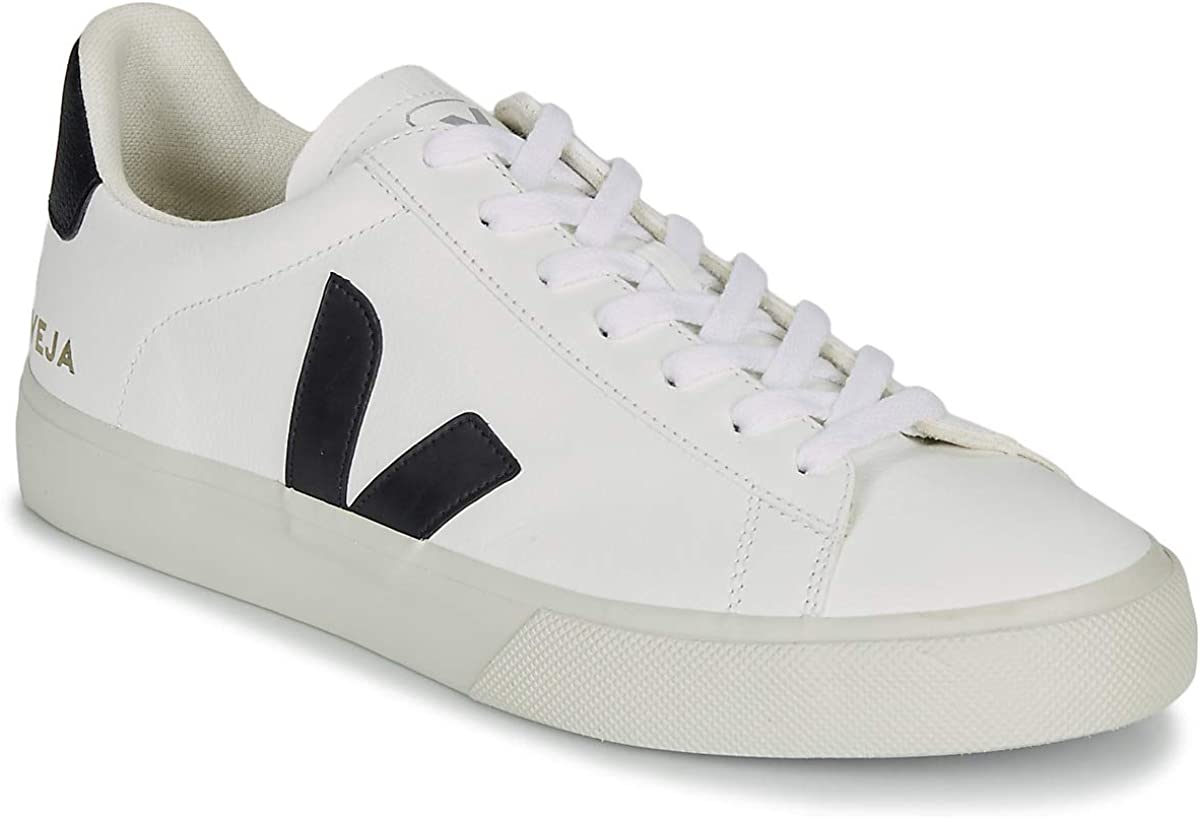 Veja Campo Leather Trainers White 10 UK