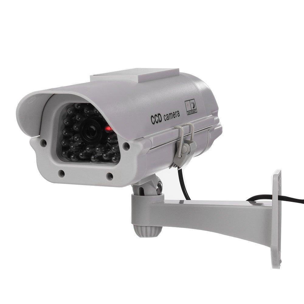 Fakeカメラ – TOOGOO ( R )アウトドア/インドアSolar Powered CCTVセキュリティカメラダミーフェイクCam withフラッシュLED (ホワイト) B01FSDM4I4