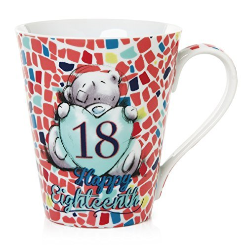 Me To You Tatty Teddy 18th Birthday Mug, Red by Me To You