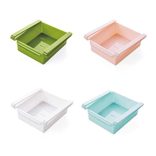 MAXGOODS - Estantería para Nevera o congelador (4 Piezas), diseño ...