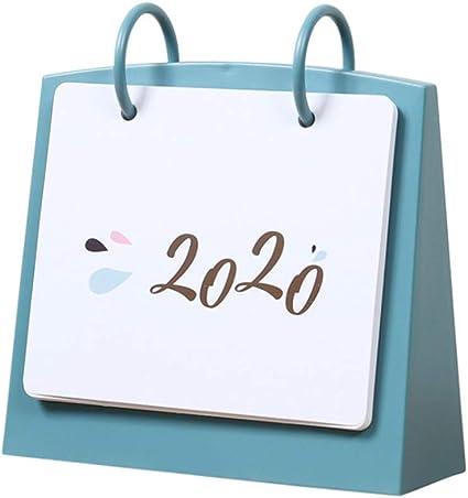 Calendrier Journalier 2021 NUOBESTY Calendrier de Bureau Quotidien Calendrier de Bureau 2020