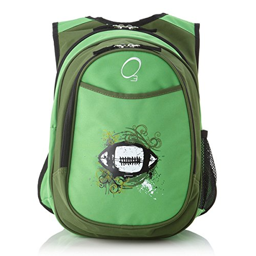 obersee-kids-everyday-pre-school-all-in-one-green-travel-football-backpack-with-cooler