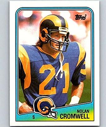 Amazon.com  1988 Topps  299 Nolan Cromwell LA Rams NFL Football ... 6835dc54d