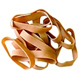 Ship Now Supply SNBAN412 Rubber Bands, 1/2'' x 3 1/2'', 10 Lbs., 0.5'' width, 3.5'' Length, Brown (Pack of 1550)