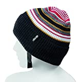 The All New Premium Original Ribcap - Iggy Beanie Cap (Large, Stripy)