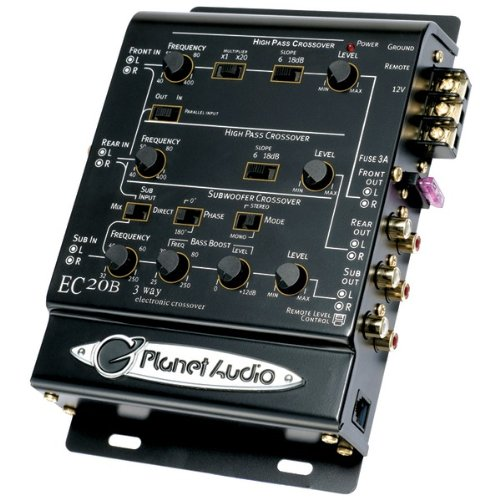 Planet Audio 3-Way Electronic Crossover Product Category: Amplifiers, Equalizers & Crossovers/Crossovers