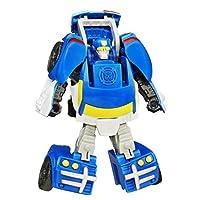 Playskool Heroes Transformers Rescue Bots Rescan Chase La policía Bot Figura de acción