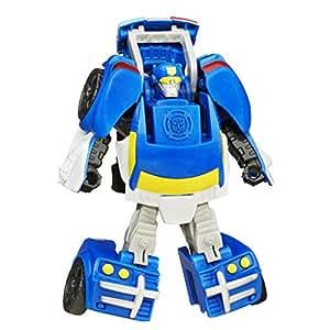 Playskool heroes transformers rescue bots rescan chase the - Playskool helmet heroes police officer ...