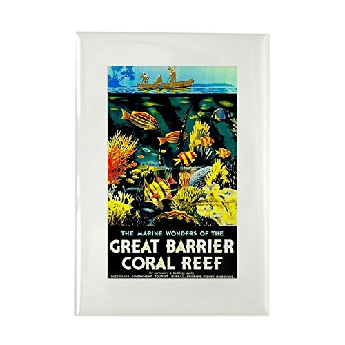 Rectangle Advertising Magnets (CafePress - Great Barrier Coral Reef Australia - Rectangle Magnet, 2