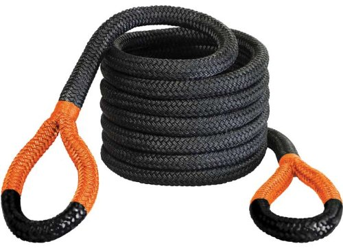 Bubba Rope 176720ORG 1-1/4'' x 30' Big Bubba Breaking Strength Rope with Standard Orange Eye - 52300 lbs. Capacity by Bubba Rope
