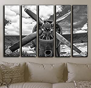 Amazon Com Large Set Airplane Canvas Wall Art Aircraft