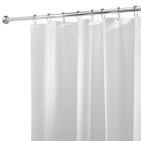 Vinylla PEVA Waterproof Plain Frost Shower Curtain Liner 200 CM