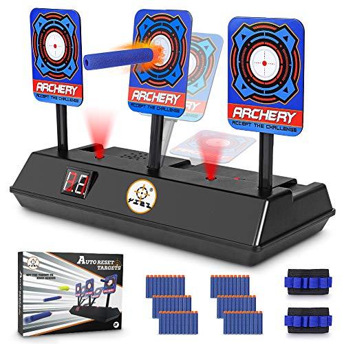 (Electric Scoring Auto Reset Shooting Digital Target For Nerf Guns Shooting Target )