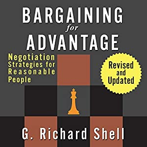 Bargaining for Advantage Audiobook