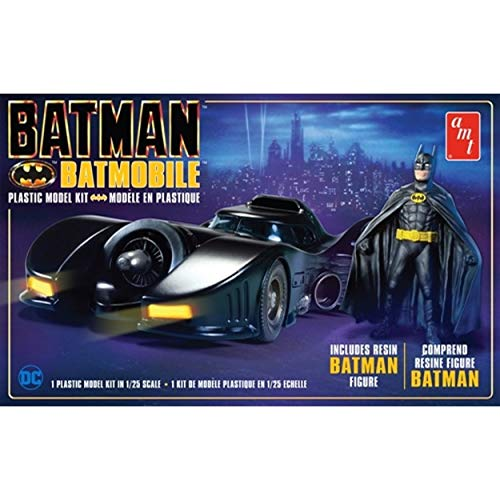 Batmobile Model - AMT Batman Batmobile 1989 with Batman Figure Model Kit