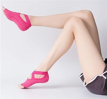 Luemdss Ballet Antideslizante Calcetines de Moda Yoga ...