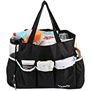 kilofly Baby Diaper Bag Insert Organizer Multi Pocket Large 12x5x10  Purse Liner