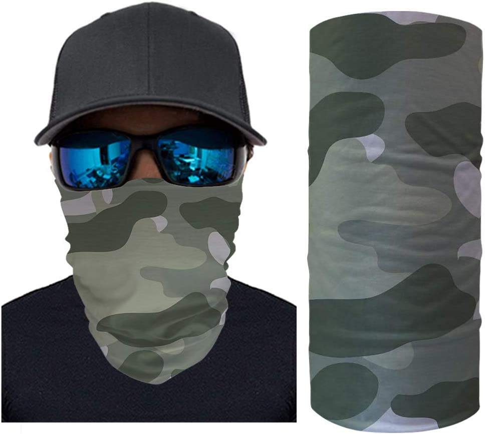 Or Neck Cover with 3D Cool Bear Printing Scarf ORGYPET Fashion Design Bandana /& Neck Gaiter Combo Wear As A Headband